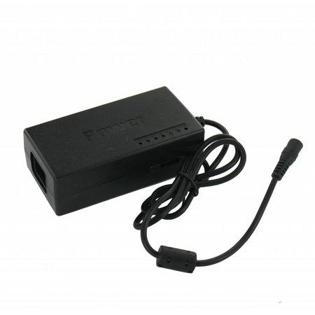 Universele laptopadapter – 8 opzetstukjes - 100 Watt