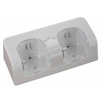Duo Oplaadstation Wit voor Wii en WiiU Remotes