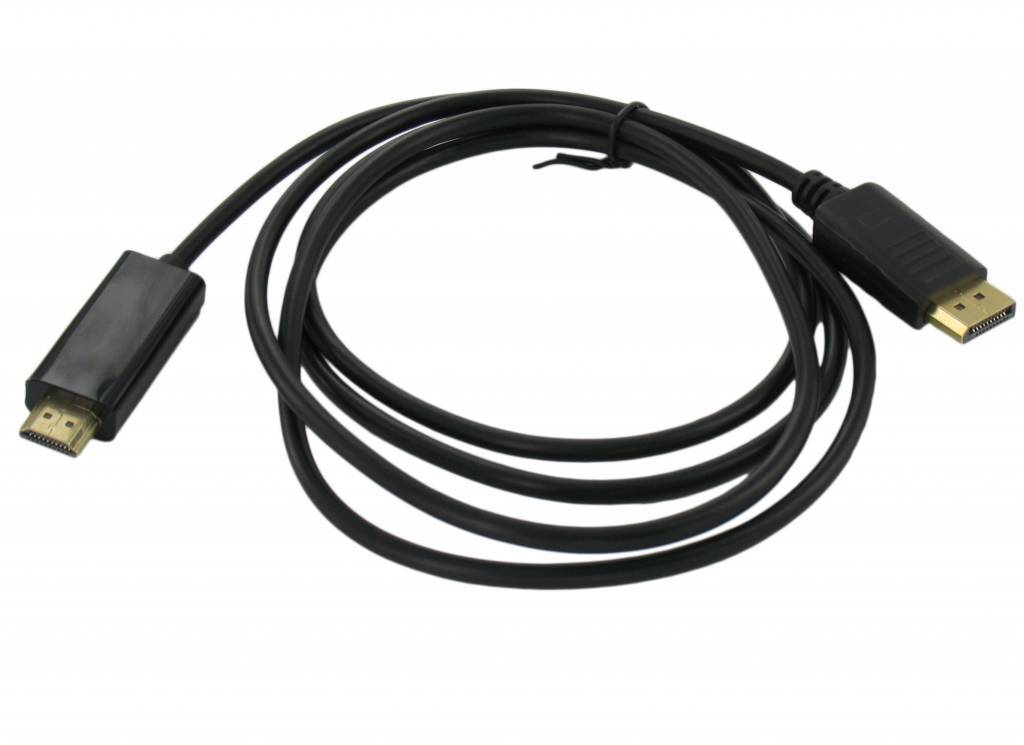 DisplayPort Male naar HDMI kabel Male 1.5 meter