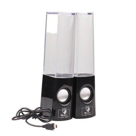 Dancing Water Speaker Zwart