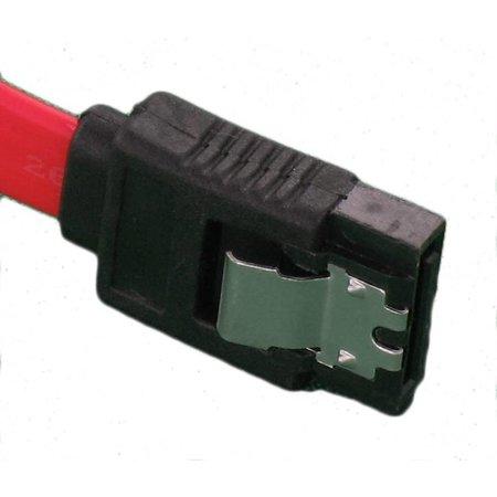 SATA III Kabel 20cm 6Gb/s Met 90° Connector