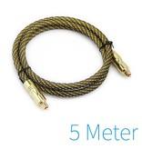 Optische Toslink kabel gold plated 5 meter