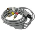 S-Video + AV tulp (composiet) kabel voor Nintendo Wii 1.8m