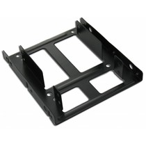 "Dual 2,5"" HDD/SSD mounting bracket"