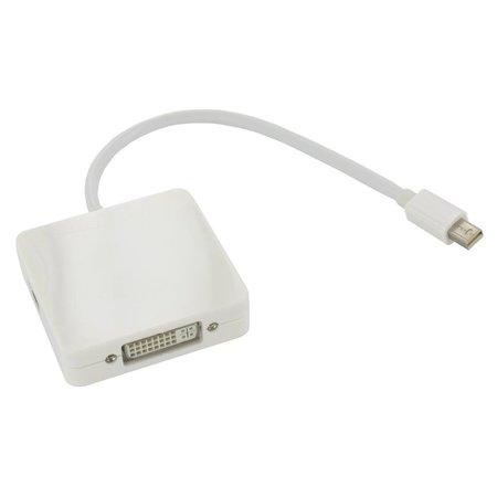 3in1 Mini DisplayPort naar DVI, HDMI en DisplayPort