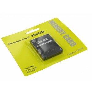 256MB Geheugenkaart voor Playstation 2