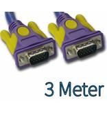 SVGA Monitor kabel 3 meter