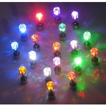 LED Oorbellen Set Wit