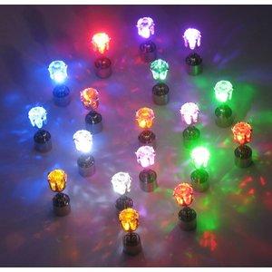 LED Oorbellen Set Geel