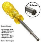 Schroevendraaier 3,8mm voor NES, SNES, N64 en GameBoy Game Cardridge