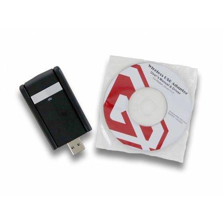 USB 3.0 AC1200 Dual Band WiFi Dongle 300Mbit en 866.7Mbit