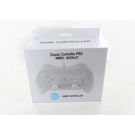 Controller bedraad Classic Pro Wit voor Wii