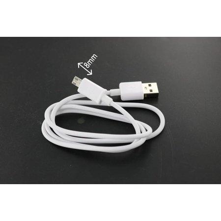 USB 2.0 naar Micro USB kabel 1m met 8mm connector
