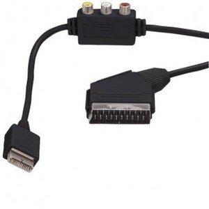 Scart kabel met RCA Composiet voor PS2/PS3