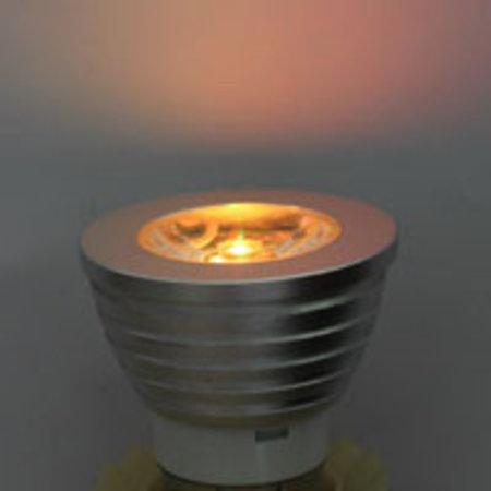 MR16 /GU5.3 RGB LED-spot met afstandsbediening – 3 Watt