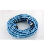 Type-A USB-Verlengkabel (Male->Female) - 10 meter - Blauw
