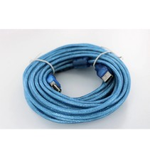 USB type-A verlengkabel (male-female) - 10M - Blauw