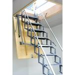 Schaartrap 70x90cm S aluminium Ruwbouwmaat