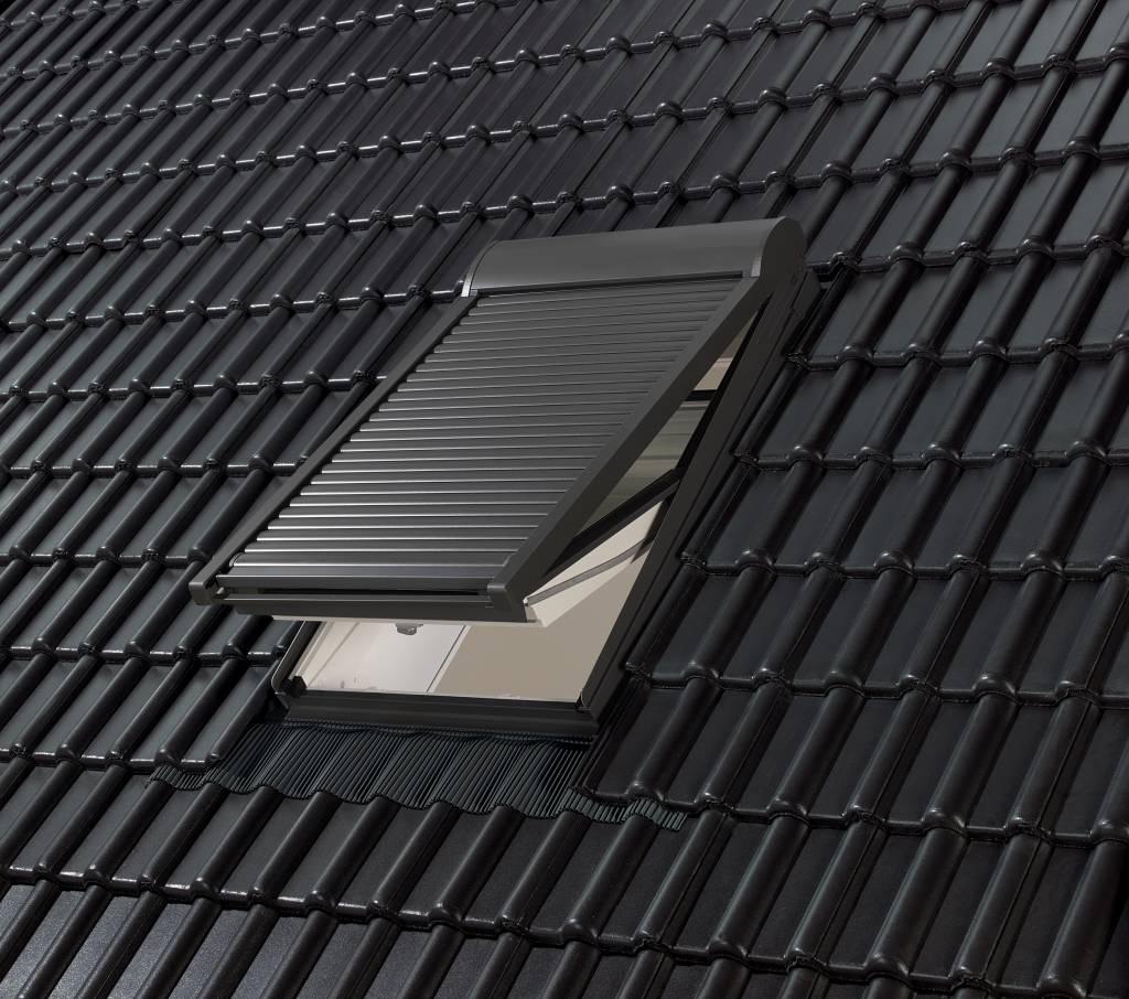 rolluik sml mk08 m08 elektrisch voor een dakraam of in. Black Bedroom Furniture Sets. Home Design Ideas