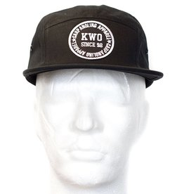 KWO 5-Panel Cap - Black