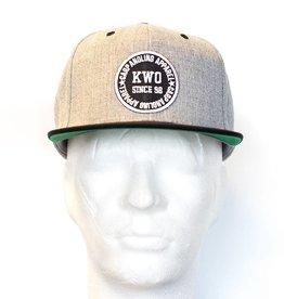 KWO Snapback - Grey