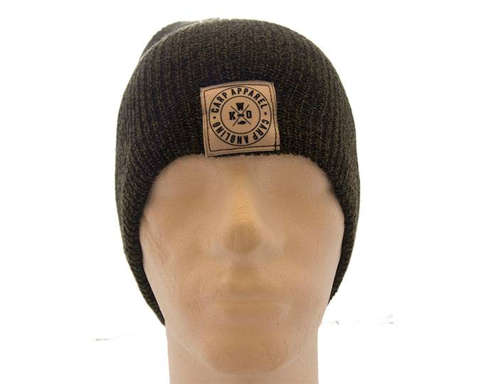 KWO Beanie Graphic - Heather Green