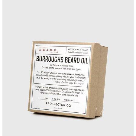 Prospector Co. BURROUGHS Baardolie 1 oz.