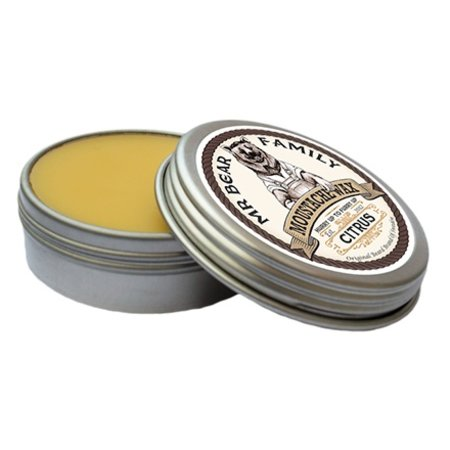 Mr. Bear Moustache Wax - Citrus - Copy