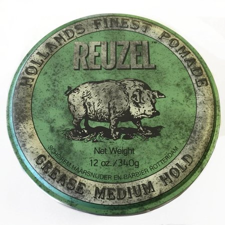 Reuzel GREASE MEDIUM HOLD - Green HOG 340 gr.