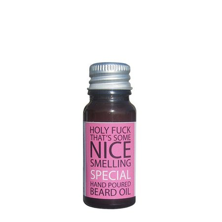SLC Brand Baardolie Bubblegum 10 ml.