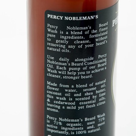 Percy Nobleman Baard Shampoo