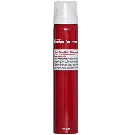 Recipe for Men Ultra Sensitive Shaving Foam