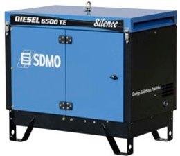 SDMO   Aggregaten   Diesel aggregaten   SDMO Diesel 6500 TE Silence