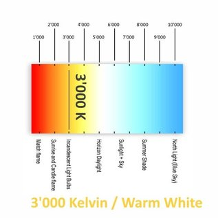 Plafonnier & 4 x LED Spot - GU10 - RA 80 - 180 lm - 3000k
