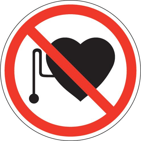 Let op als je een pacemaker hebt!