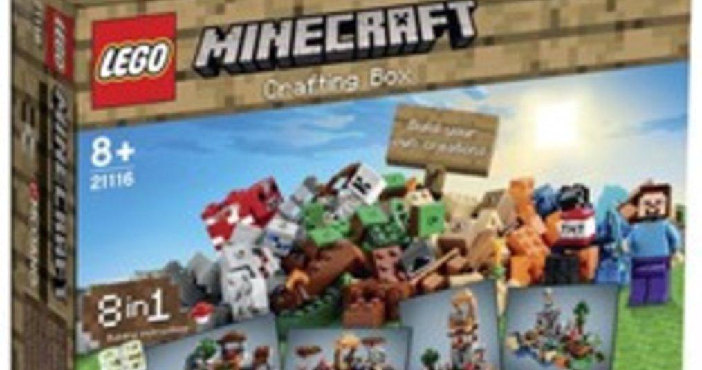 Nieuwe Minecraftsets, vanaf november