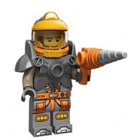 71007-6 Minifiguren serie 12 Space Miner