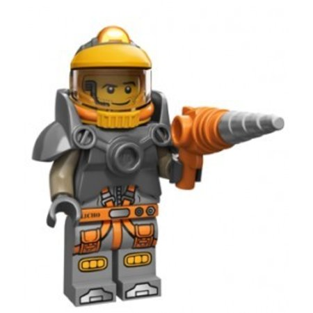 LEGO 71007-6 Minifiguren serie 12 Space Miner