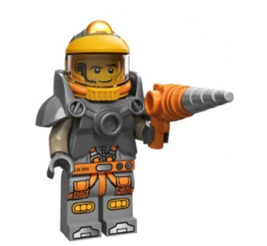 71007-6 Minifiguren serie 12 Space Miner