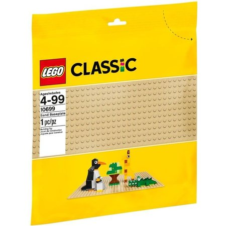 LEGO 10699 Classic Zandkleur Basisplaat 32x32