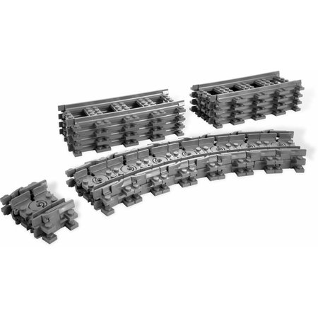 LEGO 7499 City Flexibele Rails