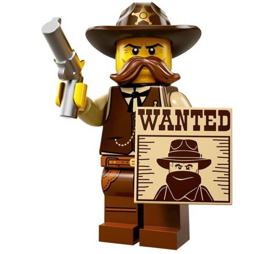 71008-2 Minifiguren serie 13 Sheriff