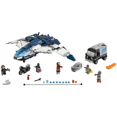 LEGO 76032 Super Heroes De Avengers Quinjet Stad Achtervolging