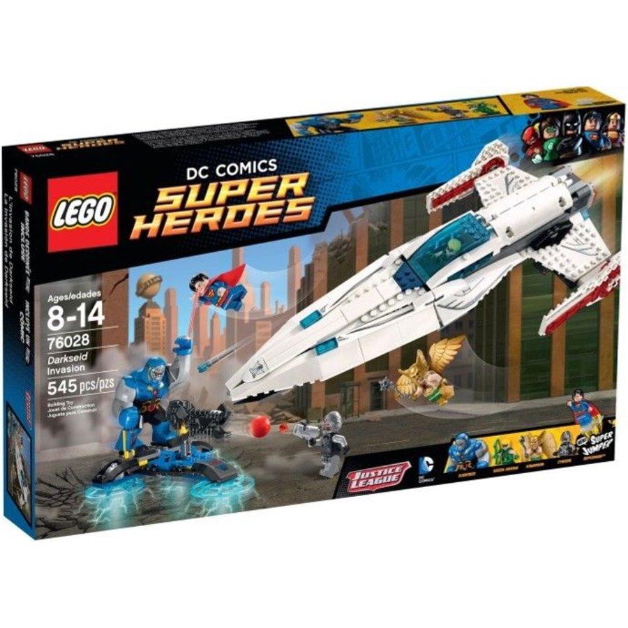 76028 Super Heroes Darkside Invasie