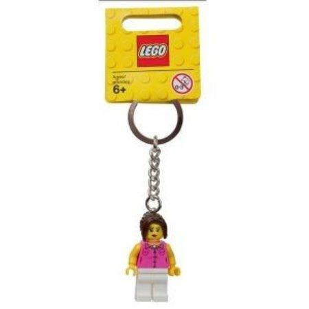 LEGO 852704 City Sleutelhanger Clasic Girl