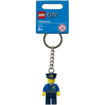 850933 City Sleutelhanger Politieman