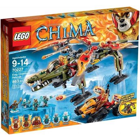 LEGO 70227 Chima King Crominus Rescue