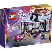 41103 Friends Popster Opnamestudio