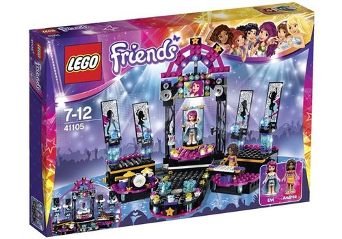 41105 Friends Popster Podium