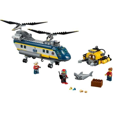 LEGO 60093 City Diepzee Helicopter